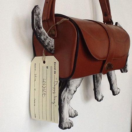 Le doggy bag de Levalet au cabinet d'amateur