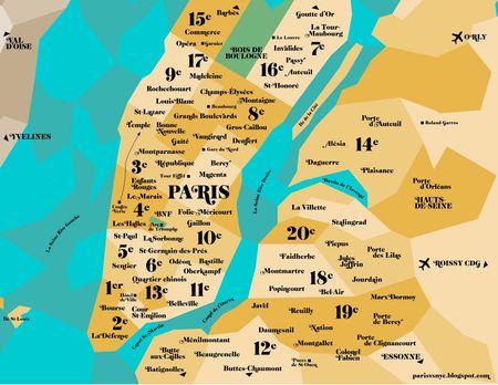 Plan New-york vs Paris