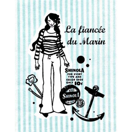 Carte-postale-la-fiancee-du-marin-gabrielle-aznar-