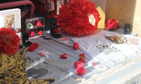 Vitrine Saint-Valentin les filantes Gabriele aznar lilli bulle