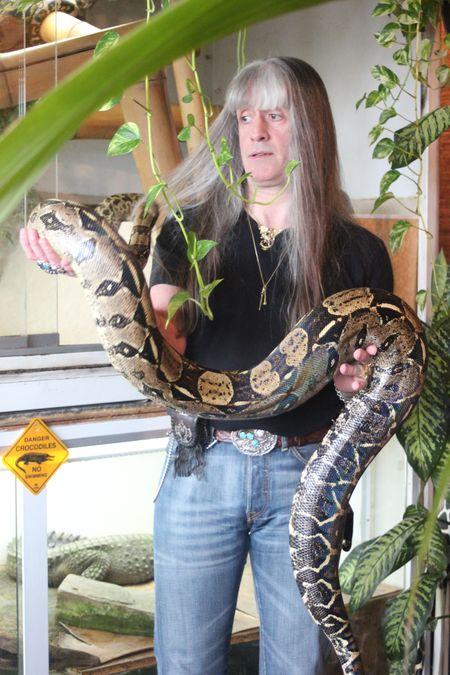 Jeff et son Python