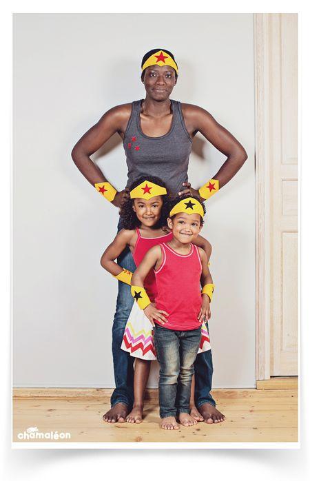Chamaleon kit wonder maman et enfants
