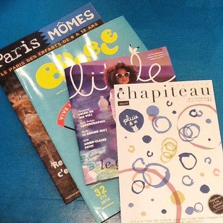 Magazine  gratuits chez Lilli Bulle