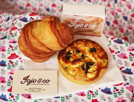 Jojo & co la pâtisserie du marché d'Aligre