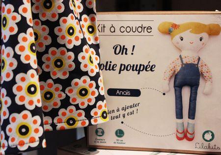 Kit à coudre Oh jolie poupée chez Lilli Bulle