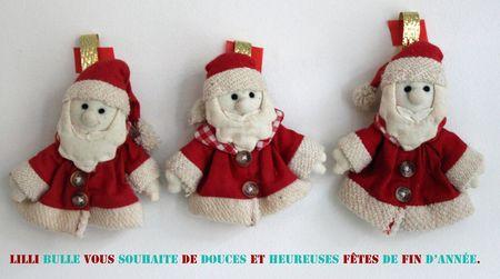 Petits pères Noël joyeuses fêtes copie