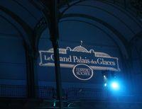 Le grand palais des glace à Paris