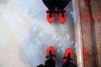 Patins sur la glace