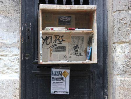 Bordeaux Bibliotheque de rue