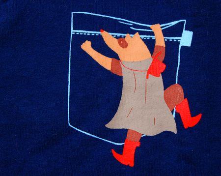 Motif bandit sweat shirt navy billybandit