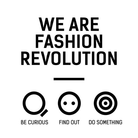 We are fashion revolution