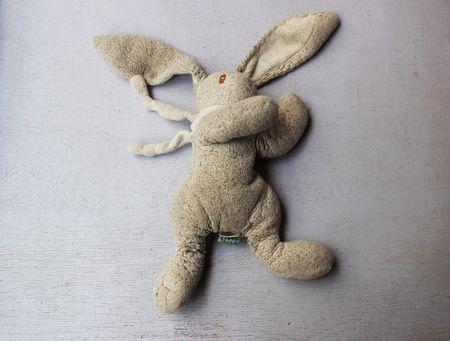 Doudou lapin perdu chez Lilli Bulle