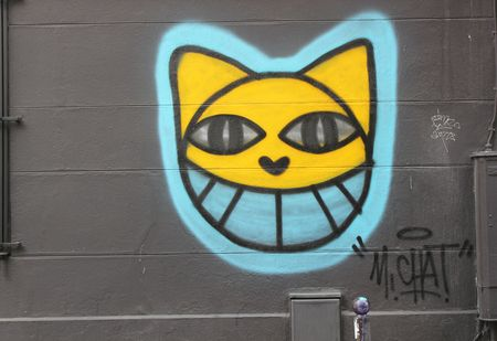 Mr Chat rue de la forge royale sept 2015