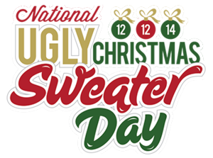 National ugly christams sweater day