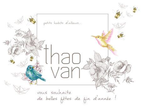 Thao Van voeux de fin d'année