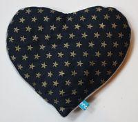 Merci lili bouillote sèche coeur étoiles