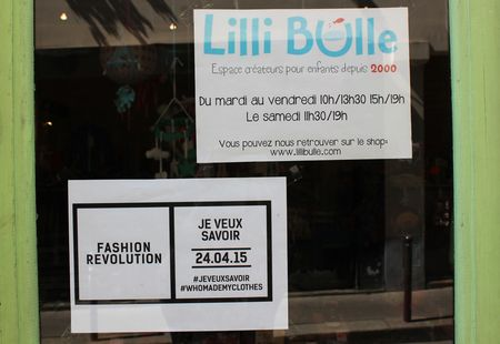 Fashion revolution Je veux savoir whomademyclothes