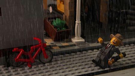 Morgan spence lego singing in the rain
