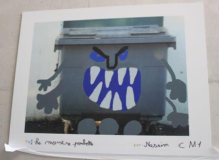 Le monstre Poubvelle de Nassim