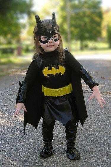 Super héroine bat girl