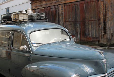 Peugeot vintage à Rochefort