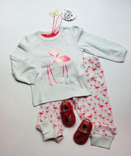 Lilli Bulle pyjama flamands roses Billieblush chaussons licorne easy peasy
