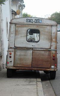Camionnette ancienne