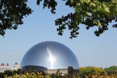 La Géode parc de La Villette
