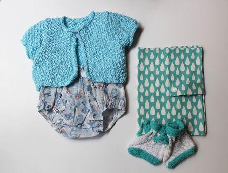 Silhouette baby blue Lilli Bulle Paris