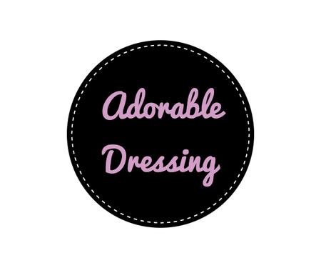 Adorable dressing